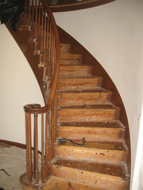 Allow Our Team Of Highly Trained Professionals To Refinish Your Wooden  Staircase Today!