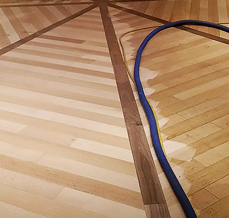 UV cured wood floors
