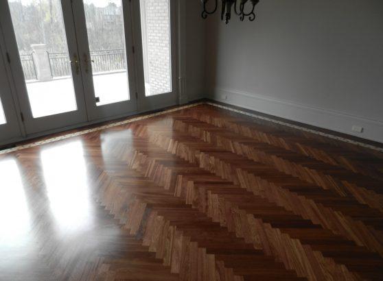 Custom Hardwood Floor