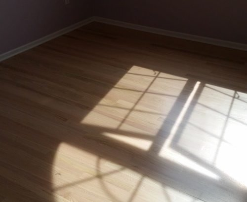 contemporary light uv wood finish